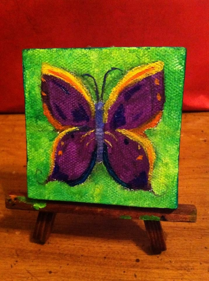 easy miniature paintings - photo #29