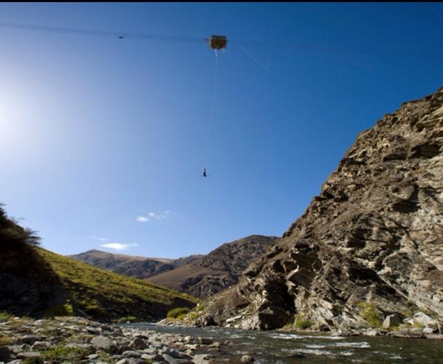 AJ Hackett Nevis Bungy Jump Queenstown New Zealand #travel #NewZealand #photography #NZ #fun #bungy #freefall