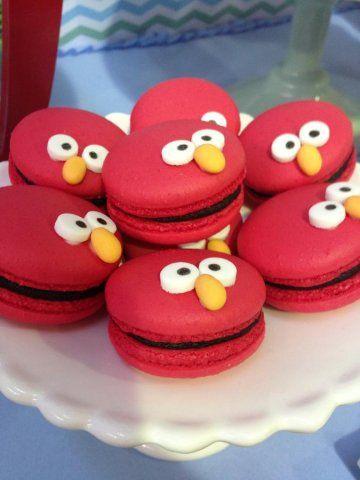 Maravillosa mesa de cumpleaños de Elmo | Blog de BabyCenter