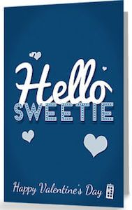 Sweetie Valentine's Day Greeting Card
