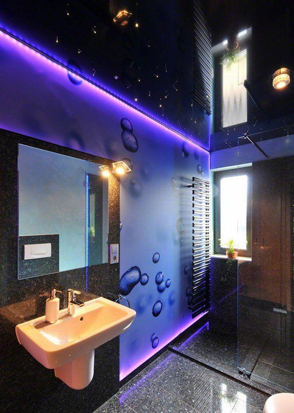 unique bathroom ceiling design ideas stretch ceiling modern bathroom