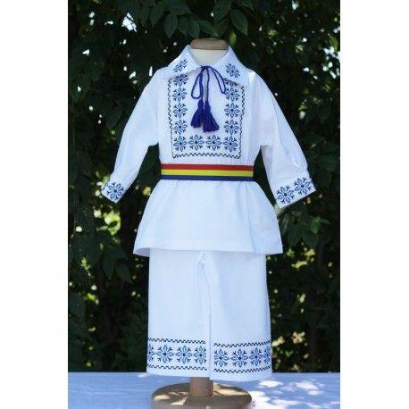 Costum botez baieti traditional Ioan