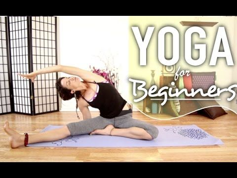Bedtime Yoga - 20 Minute Calming & Relaxing Night Time Flow. I found this to be a great routine for a long deep stretch