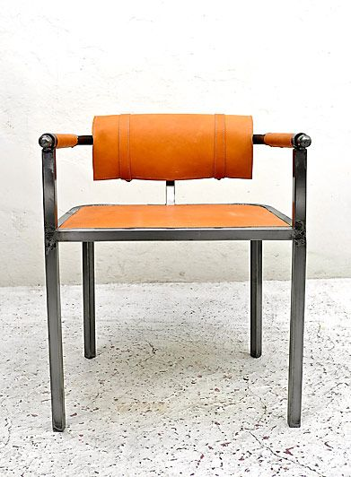 Looks like a fun beginning weld project. DIY. This could even be a great garage chair.