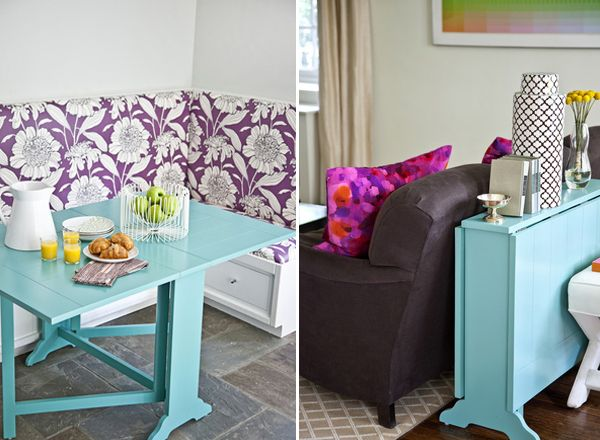 30 Space Saving Folding Table Design Ideas For Functional Small Rooms U2013  Page 6 U2013 Colorful Planet