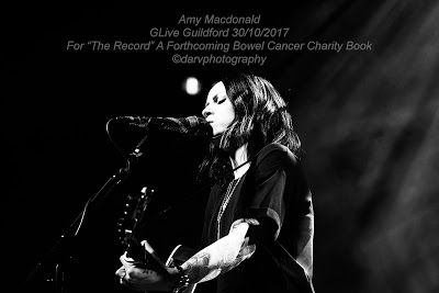 The Record - A Fundraising Book For Beating Bowel Cancer: Amy Macdonald at GLive Guildford