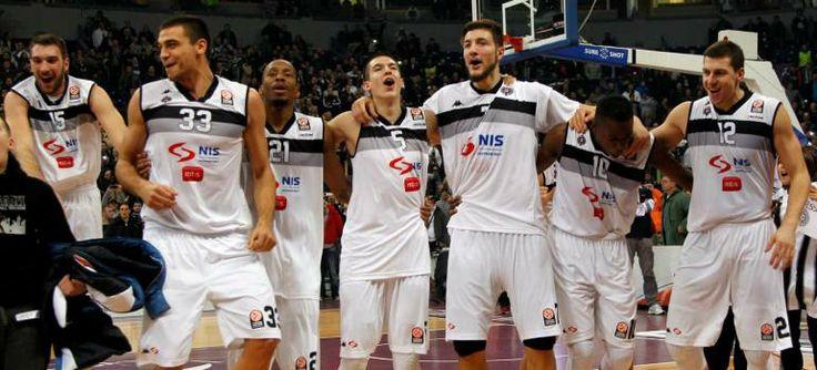 Black and white joy (Fenerbahce - KK Partizan 77-79 12-12-2013)