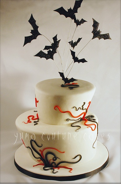 Vampire Themed Birthday Cakes