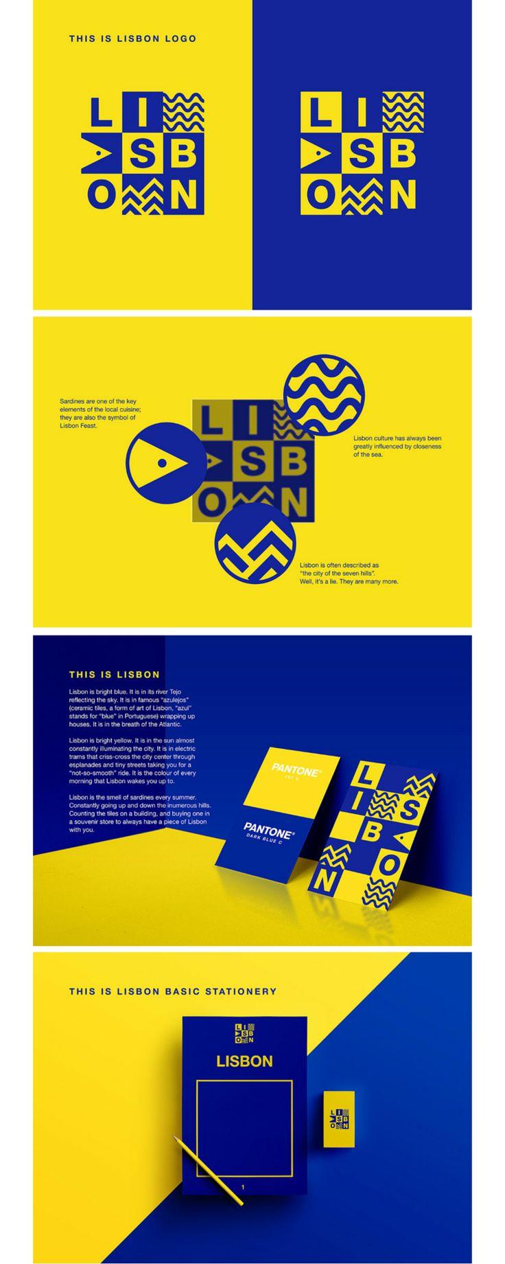 Lisbona city branding                                                                                                                                                                                 More