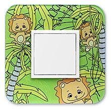 90910_ZL: 1 - rámček, džungla a lev