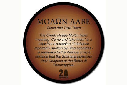 Imgs For > Molon Labe Tattoo Meaning