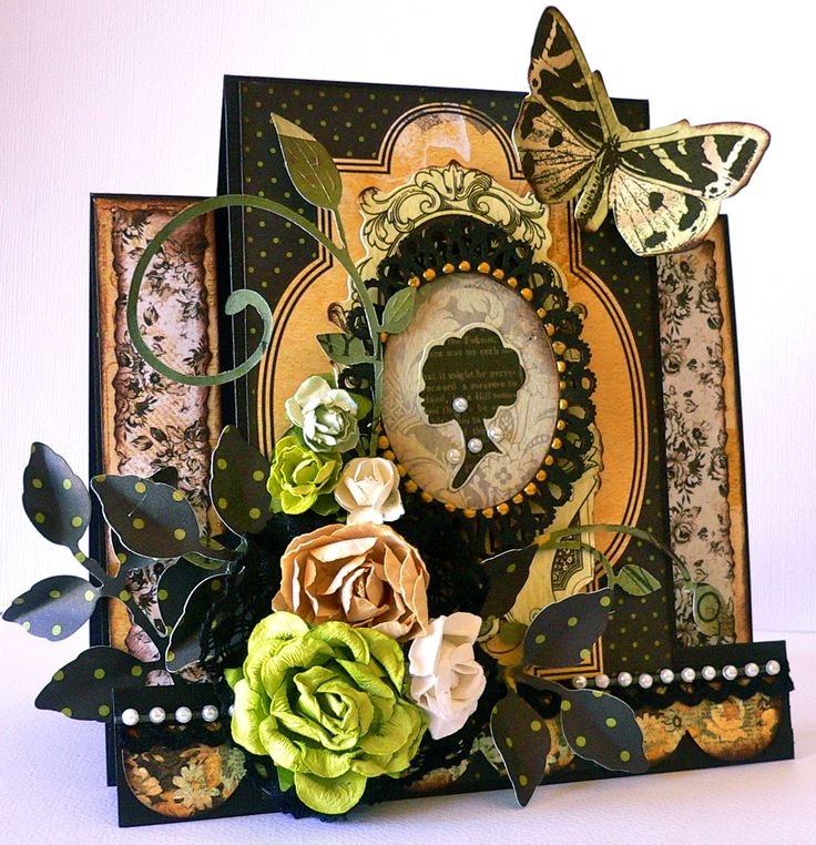 What an elegant card! Using Xyron and Kaisercraft's new 75 cents collection.