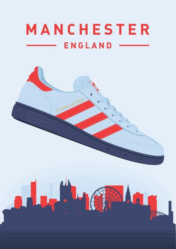 prima pereza Centímetro  adidas Originals Spezial GT Manchester TRAINERS | Sepatu adidas, Gaya  kasual, Sepatu pria