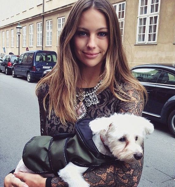 #cute #dog #puppy #model #fashion  Our exclusive interview with Mathilde Goehler: http://foxyleague.com/mathilde-gohler/  #beautiful #model #photography #sexy