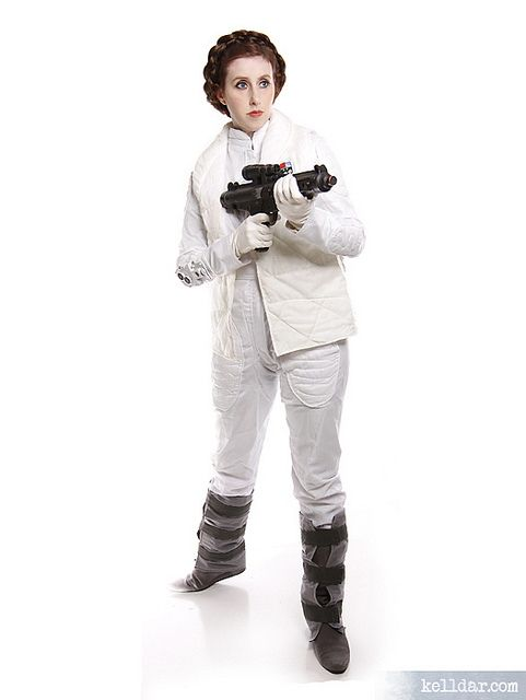 My Hoth Princess Leia costume (Star Wars), from 2006. // Construction info and more cosplay photos at kelldar.com