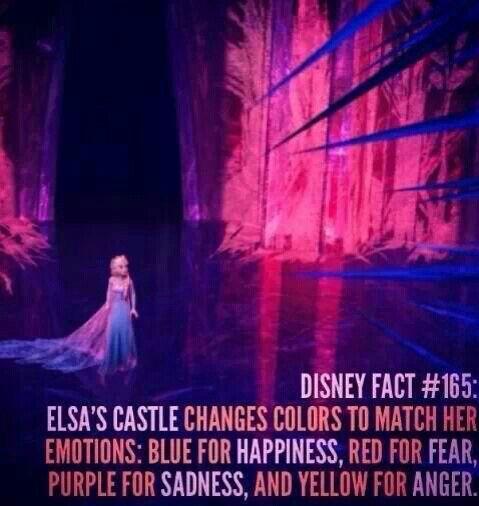 Disney fun fact about frozen
