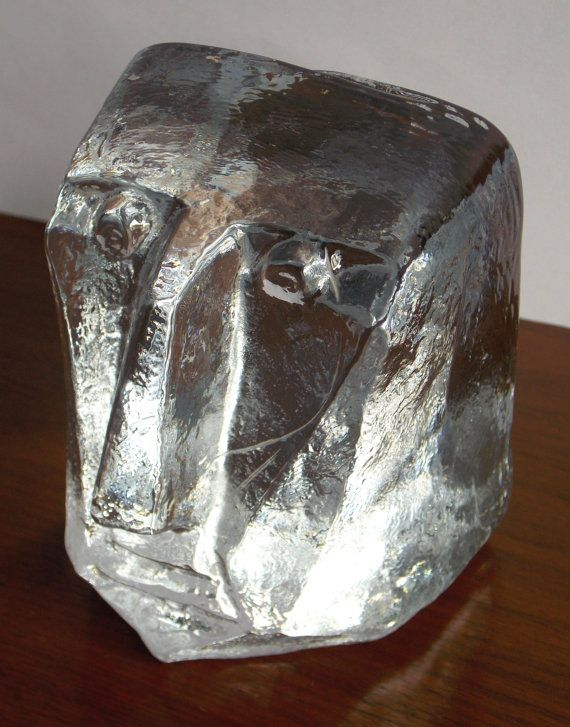 Erik Höglund BODA Glass Face 1960s