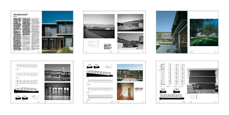 PETER ZUMTHOR. Spittelhof housing in Biel-Benken. Spittelhof Estate. Baselland. Switzerland 1996 #housing #vivienda HOUSING AND FLEXIBILITY SERIES  Buy this project in pdf --> http://aplust.net/tienda/revistas/Serie%20Vivienda%20y%20flexibilidad/Vivienda%20y%20flexibilidad%20I/#project-1078