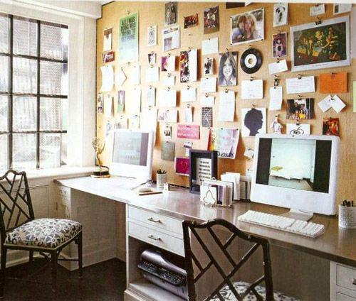 office: Idea, Offices, Pin Boards, Home Office, Inspiration Boards, Corks Boards Wall, Bulletin Boards, Desks, Pinboard