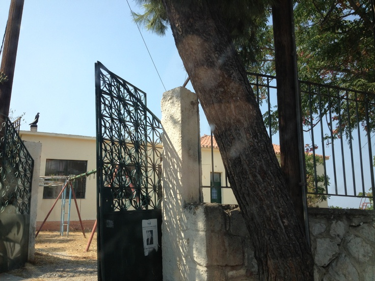 old school at Taktikoupoli, near Methana