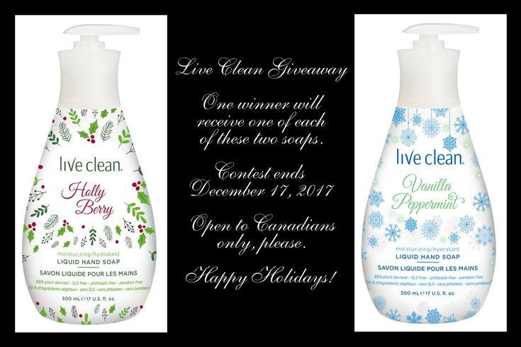 I'm back one last time for 2017 to tell you about one of my favourite companies! Yup, it's Live Clean! My kids were all excited about this latest package because they're big fans of the Live Clean …