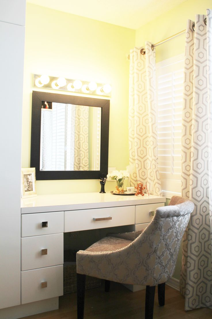 Every girl needs her own glam corner. The way we look reflect the way we feel.