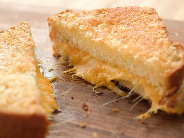 Get Crispy Grilled Cheese Recipe from Food Network