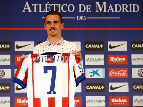 Antonio Griezmann in Atletico Madrid for €30M