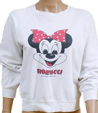 Fiorucci - 1980 Minniei Mouse sweatshirt