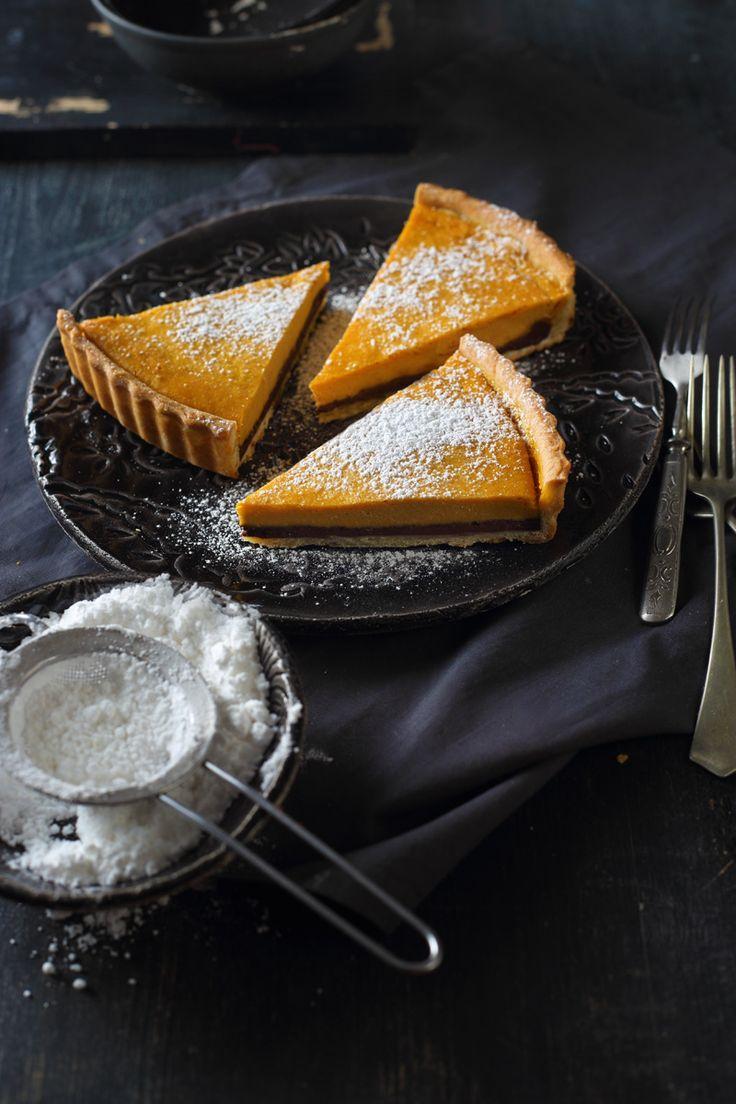 pumpkin cheesecake pie / Zita Csigó Photography&Styling