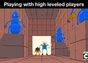 high leveled players