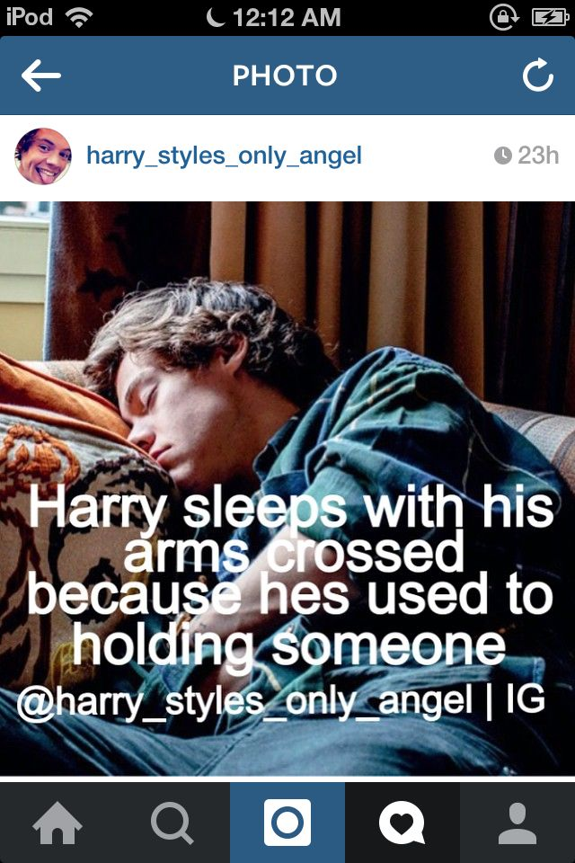 Got my first fact up on Instagram yesterday. Like and follow me @harry_styles_only_angel