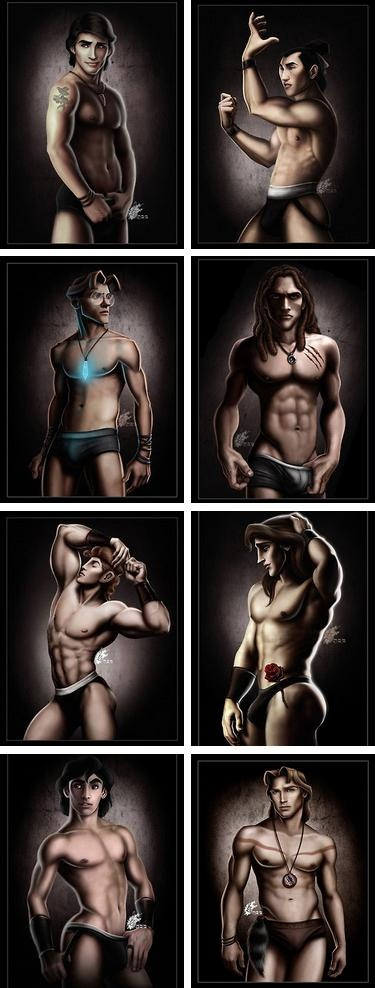 Sexy disney characters....don't know how i feel about this