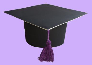 Итак, мастерим для детей (и с детьми) шапочки выпускников