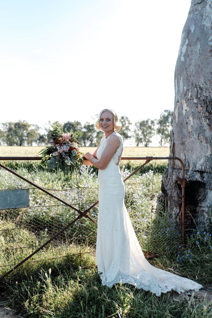 Relaxed Toorannie Farm Wedding - Polka Dot Bride   Photo by http://georgiejames.com.au/