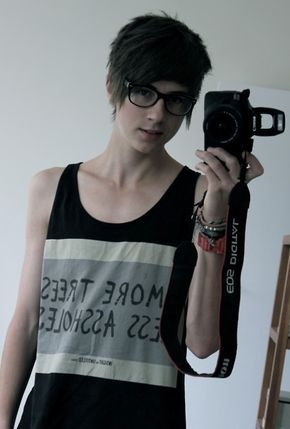 Nice glasses :D I want glasses like that if I ever need them that is