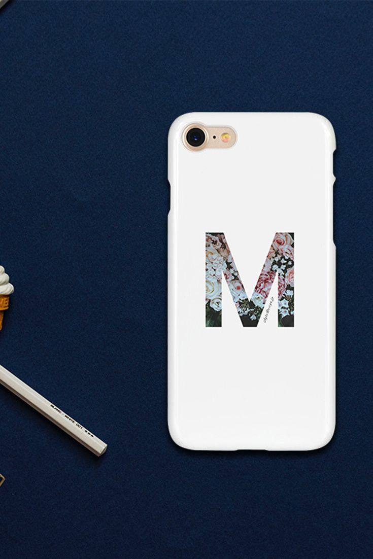 1e20a2779d 花柄☆イニシャルデザインスマホケース | Ayla Cellphone Case Designs ...
