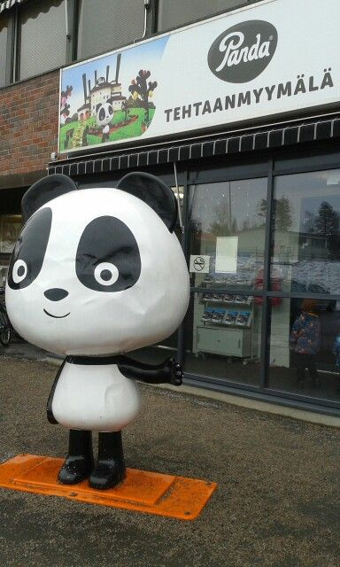 Panda chocolate factory - you should visite while staying in Jyväskylä :)