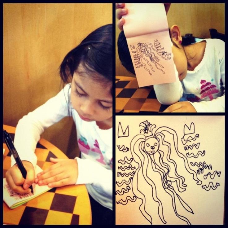 MiaPetra (Age 5) - Starbucks