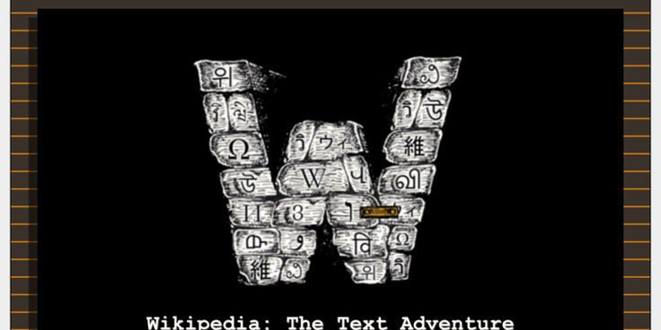 A programmer turned Wikipedia into a classic text adventure https://arstechnica.com/gaming/2017/07/a-programmer-turned-wikipedia-into-a-classic-text-adventure/?utm_campaign=crowdfire&utm_content=crowdfire&utm_medium=social&utm_source=pinterest