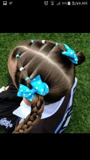 Little girl hair