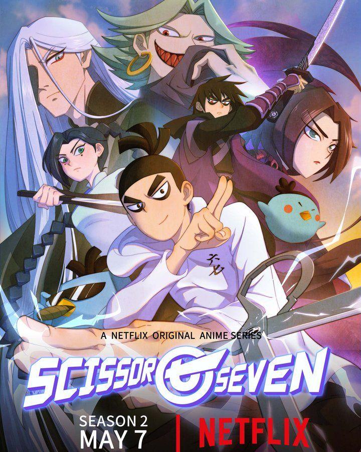 Scissor Seven Seanson 2 in 2020 Netflix original anime