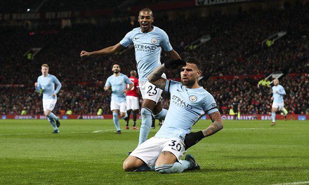Man United 1-2 Man City: Nicolas Otamendi strike wins it