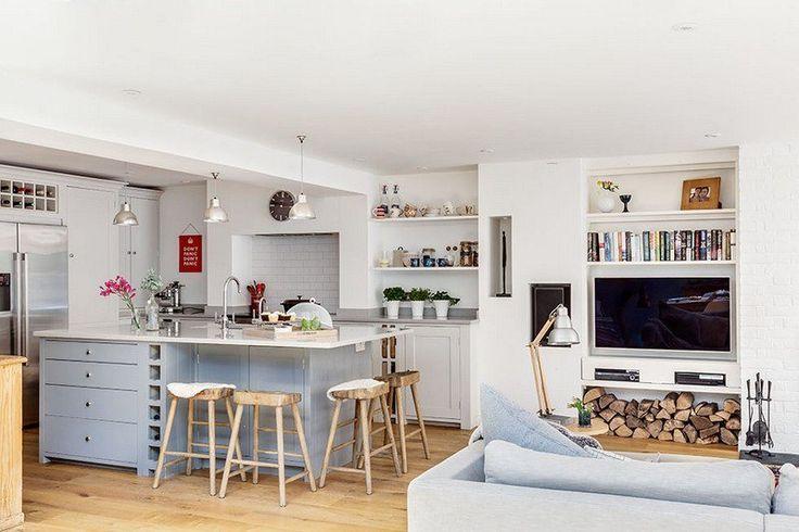 17 best ideas about cuisine ouverte sur salon on pinterest - Cuisine ouverte sur le salon ...