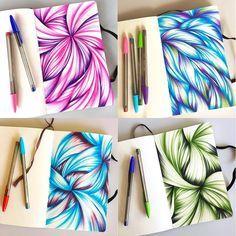Heute habe ich auf dem Blog einen großen künstlerischen Durchbruch für 2016 erzielt. Farbige Kugelschreiber! Klicken Sie auf den Link in meinem Profil, um weiterzulesen und meinen Erfolg zu feiern …