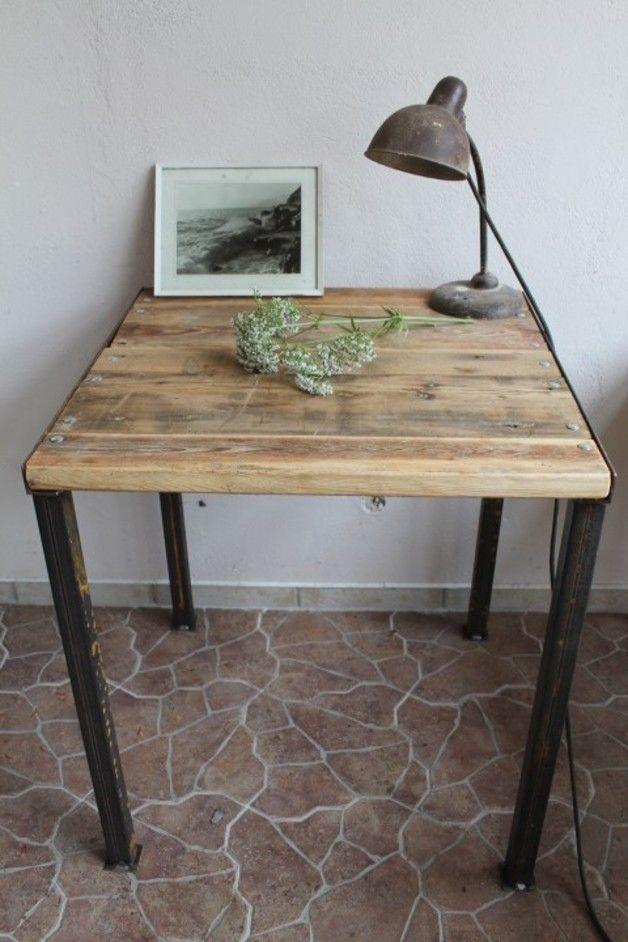Esstische - Schreibtisch // wooden table by Jeanette-Girbinger via dawanda.com
