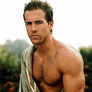 Ryan Reynolds, How can you not love a man with a hard body and a great sense of humor?