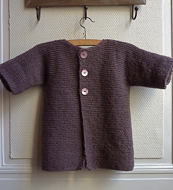 Knitting Pattern For One Piece Cardigan : 1000+ images about Kids sweaters on Pinterest Sweater patterns, Age 3 and B...
