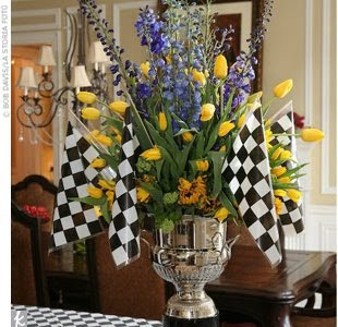 I Request That Every Flower Arrangement I Receive From Now On Includes Checkered Flags Racing