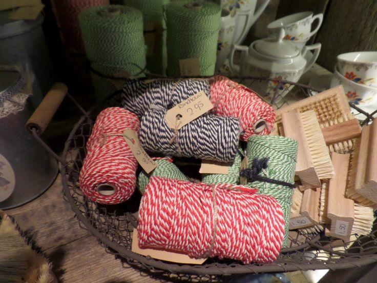 Bindtouw katoen 100 of 500 gram | Oude huishoudelijke artikelen | De Boerenmeid
